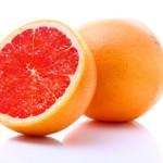 a grapefruit