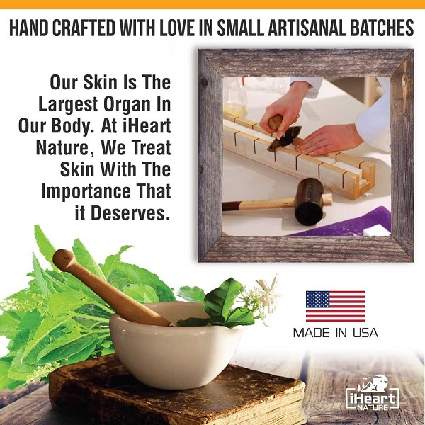 iHeart Nature Hand Crafted Small Artisanal Batches