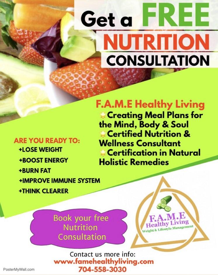 F.A.M.E Healthy Living