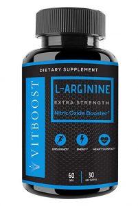 Vitboost L-Arginine supplement